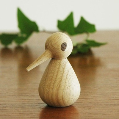 Architectmade(アーキテクトメイド)Bird スモールサイズ ナチュラルオーク 木製オブジェ・置物 北欧デンマーク