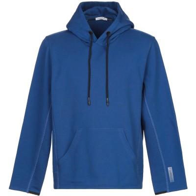 パオロ ペコラ PAOLO PECORA スウェットシャツ ブルー M コットン 100% スウェットシャツ