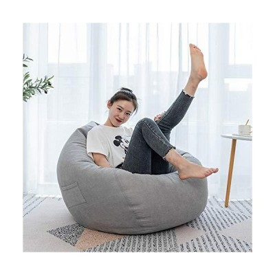 Bean Bag Chair Cover,Soft Bean Bags Chairs Stuffed Animal Storage, Extra Large Lazy Sofa Bean Bag Cover, Stuffable Zipper Beanbag Covers for