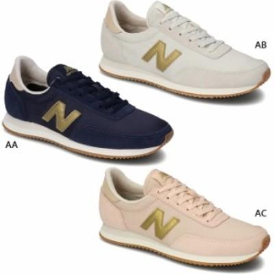 B幅 ニューバランス レディース スニーカー シューズ 紐靴 ローカット スエード ナイロン 送料無料 New Balance WL720AA WL720AB WL720AC