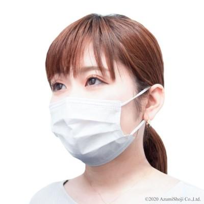 即納 マスク 使い捨て 耳が痛くなりにくい サージカル 花粉症  快適  対策 ウイルス 不織布 50枚セット 在庫有り