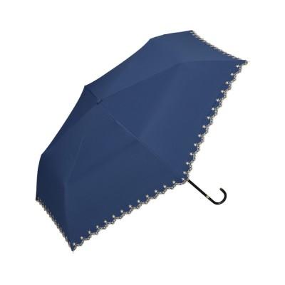 Wpc./KiU / 遮光星柄スカラップmini WOMEN ファッション雑貨 > 折りたたみ傘