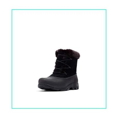 【新品】Sorel Women's Snow Angel - Light Rain and Heavy Snow - Waterproof - Black - Size 11(並行輸入品)