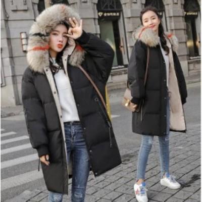 上品 秋冬 保温 防寒 ミディアム丈コート ダウンジャケット ダウンコート 中綿コート ジャケット アウター ダウンレディース 暖かい 20代