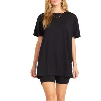 スティーブ マデン レディース シャツ トップス Cult Classic Tee - Modal Jersey Oversized T-Shirt