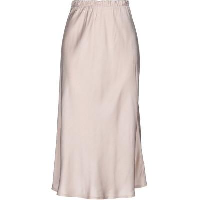 HOPE COLLECTION 7分丈スカート ローズピンク M レーヨン 70% / シルク 30% 7分丈スカート