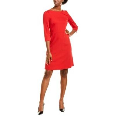 エスカーダ レディース ワンピース トップス ESCADA SPORT Dacordasan Wool-Blend A-Line Dress red