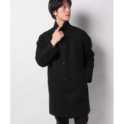【ヴァン】 スタンドカラーコート メンズ ブラック M VAN