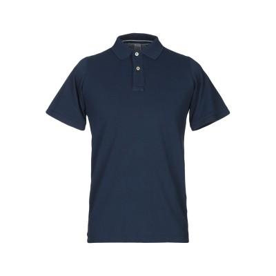 AUTHENTIC ORIGINAL VINTAGE STYLE ポロシャツ ダークブルー S コットン 100% ポロシャツ