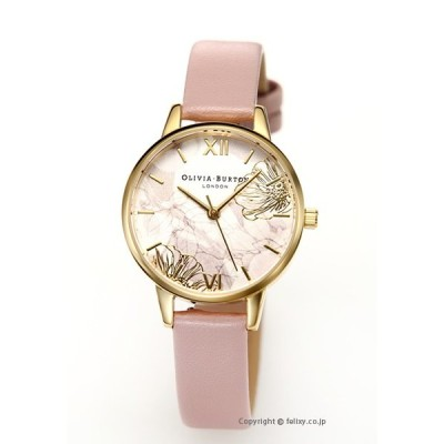 オリビアバートン 腕時計 レディース OLIVIA BURTON 時計 ABSTRACT FLORAL VEGAN ROSE SAND & GOLD OB16VM31