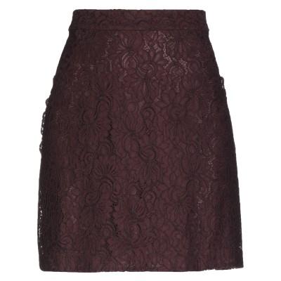ピンコ PINKO ひざ丈スカート ディープパープル 40 レーヨン 43% / ナイロン 29% / コットン 28% ひざ丈スカート