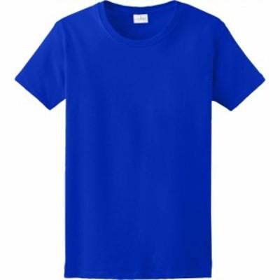 ギルダン Gildan レディース Tシャツ トップス team ultra cotton 6oz. t-shirt Royal