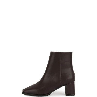 somedayif レディース ブーツ Moving middle heel ankle boots