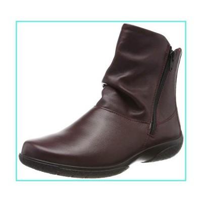 【新品】Hotter Women's Whisper Boot Maroon 8 US Ankle Boots(並行輸入品)