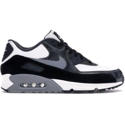 """ナイキ メンズ Nike Air Max 90 """"Python"""" スニーカー WHITE/PARTICLE GREY-ANTHRACITE-BLACK エアマックス90"""