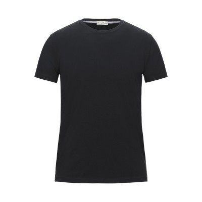 CASHMERE COMPANY T シャツ ブラック 46 コットン 100% T シャツ