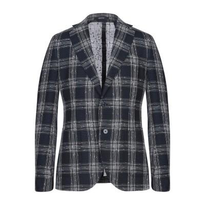 ROYAL ROW テーラードジャケット ダークブルー 52 ポリエステル 85% / レーヨン 15% テーラードジャケット