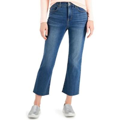 スタイル&コー Style & Co レディース ジーンズ・デニム ボトムス・パンツ Mid-Rise Kick Crop Jeans Fearless Wash