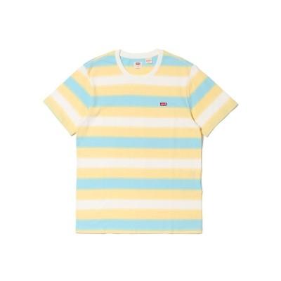 【リーバイス】 SS ORIGINAL HM Tシャツ FLOWING GOLDEN HAZE S メンズ MULTI-COLOR S- Levi's