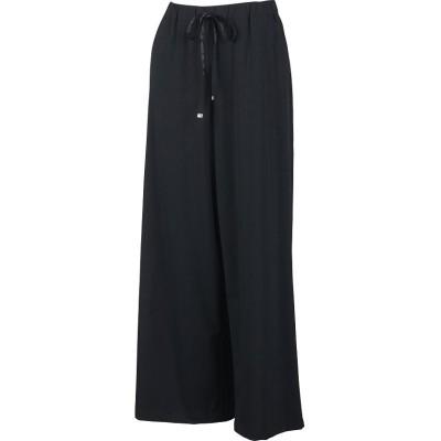 (Munsingwear/マンシングウェア)【はっ水】CORDURAナイロンワイドパンツ/レディース ブラック系