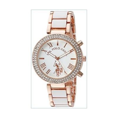 U.S. Polo Assn. Women's Quartz White Dress Watch (Model: USC40091)並行輸入品