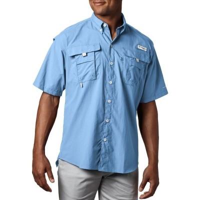 コロンビア シャツ トップス メンズ Columbia Men's PFG Bahama Button Down Shirt (Regular and Big & Tall) Sail
