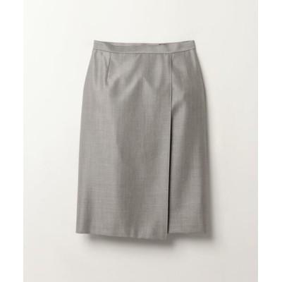 LANVIN COLLECTION/ランバン コレクション ラップスカート グレー2 38