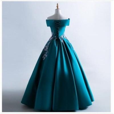 ウエディングドレス ボートネック 人気 ライダル パーティードレス ブ 結婚式 花嫁 二次会 ワンピース 素敵 女性 プリンセスライン 綺麗