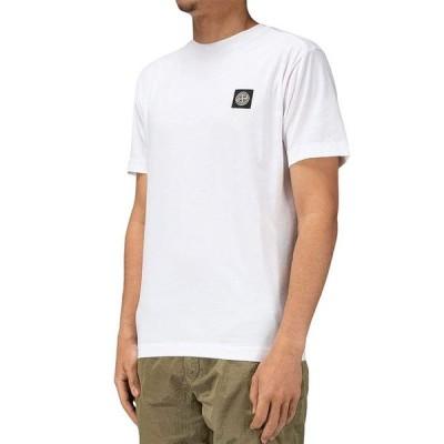 ストーンアイランド メンズ Tシャツ トップス Logo Crewneck Tee