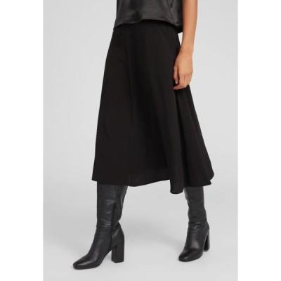 エディテッド レディース ファッション A-line skirt - black