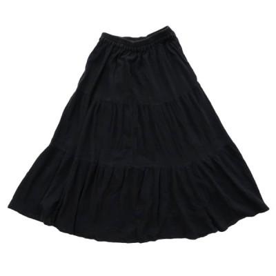 レディース インド製 スカート ロングスカート サイズ表記:L