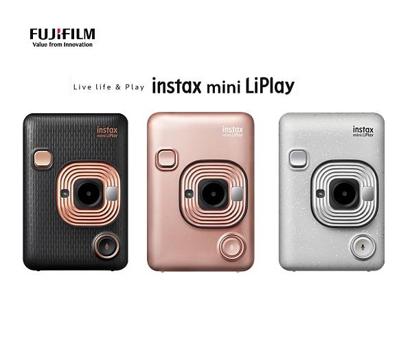 【贈1盒 10張底片】 FUJIFILM instax mini LiPlay 數位拍立得相機 可錄音 【恆昶公司貨】
