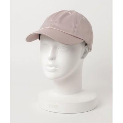FUNALIVE / SATIN 8 CAP サテン生地無地カーブキャップ MEN 帽子 > キャップ