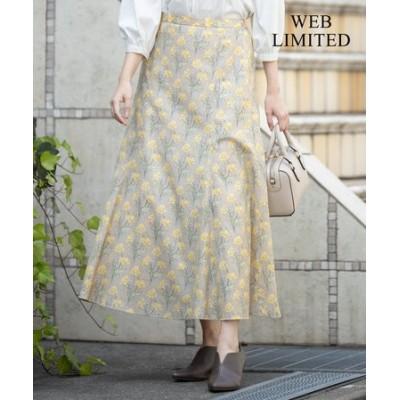 【洗える】LIBERTY マーメイド スカート