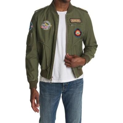 フレーム メンズ ジャケット&ブルゾン アウター Test Pilot Jacket SAGE