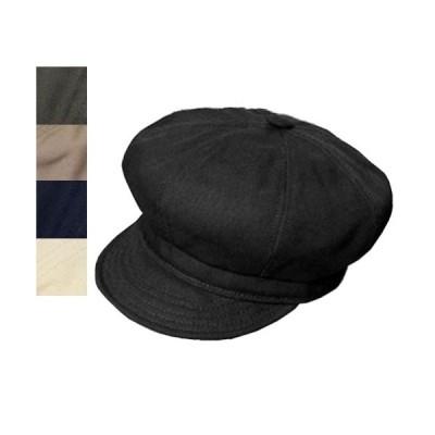 ニューヨークハット New York Hat  キャスケット  6216 CANVAS SPITFIRE  Black Olive Khaki Navy Natural