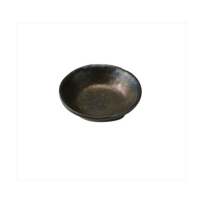 丸皿 丸千代口 Φ9.3 cm 黒  シック 小皿 慈眼 シリーズ おしゃれ 豆皿