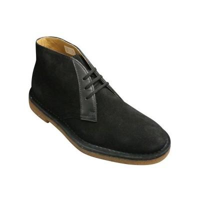 リーガル/ブーツ チャッカーブーツ/62AR ブラックベロア/メンズ 靴