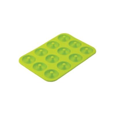 シリコンミニドーナツ型 ベーシック 12個取 DL6245 幅260×奥行180×高さ24(mm)/業務用/新品