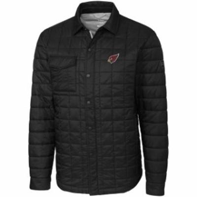 Cutter & Buck カッター アンド バック スポーツ用品  Cutter & Buck Arizona Cardinals Black Rainier Shirt Jacket