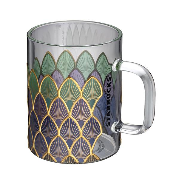 星巴克夢幻鱗片玻璃杯
