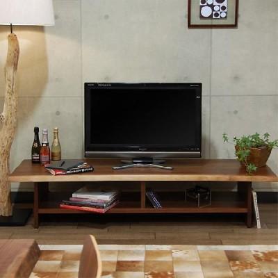 新型無垢材テレビボード ブラックウォールナットタイプ 幅1700×奥行500×高さ370 国産 旭川 日本製 旭川家具
