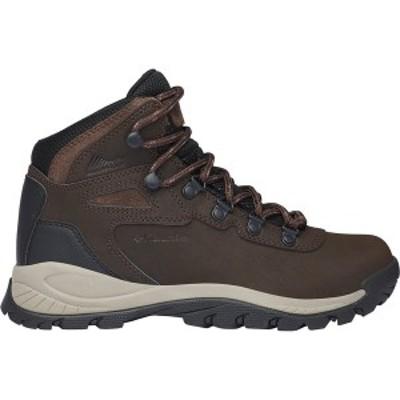 コロンビア レディース ハイキング スポーツ Newton Ridge Plus Wide Hiking Boot - Women's Cordovan/Crown Jewel