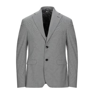 アレッサンドロデラクア ALESSANDRO DELL'ACQUA テーラードジャケット ブラック 50 ポリエステル 78% / レーヨン 20%