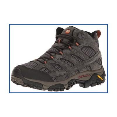 【新品】Merrell メンズ Moab 2 ミッド防水ハイキングブーツ US サイズ: 10 カラー: ブラック【並行輸入品】