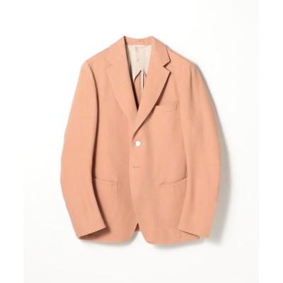TOMORROWLAND/トゥモローランド 【別注】LE VERNEUIL リネン テーラードジャケット 35 レッド 38