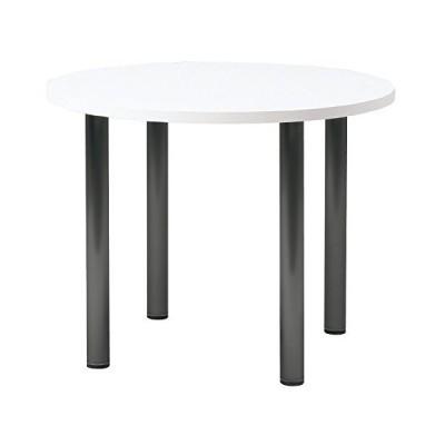 プラス   会議テーブル LM 丸脚・4本脚タイプ 丸形 LM-90PC ホワイト 603731