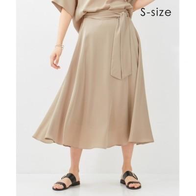 【ベイジ,/BEIGE,】 【S-size・InRed5月号掲載】MERU / フレアスカート
