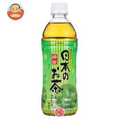 送料無料 【2ケースセット】 えひめ飲料  POM(ポン)  日本のお茶  500mlペットボトル×24本入×(2ケース)