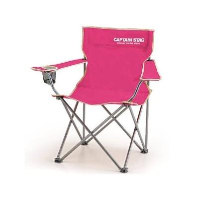 キャプテンスタッグ(CAPTAINSTAG) キャンプ パレット ラウンジチェア typeII(ピンク) M-3915 アウトドア バーベキュー 椅子 運動会